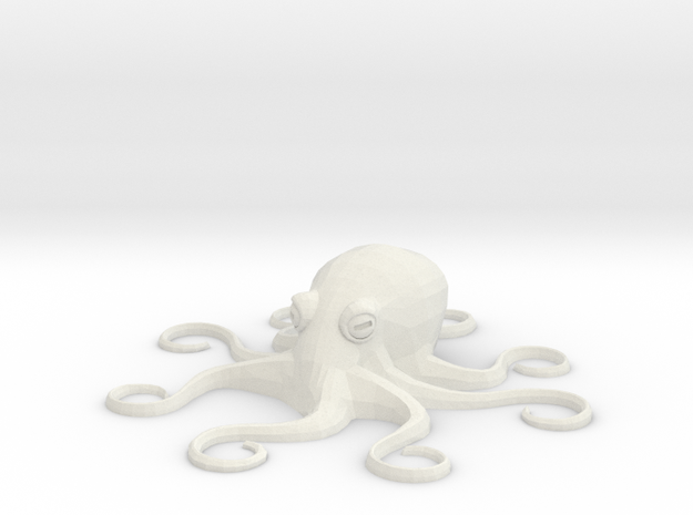 Octopus Mini - Toys in White Natural Versatile Plastic