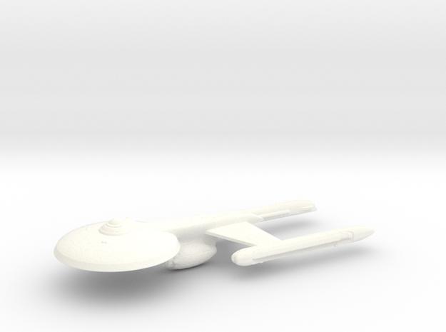 Uss columbia in White Processed Versatile Plastic
