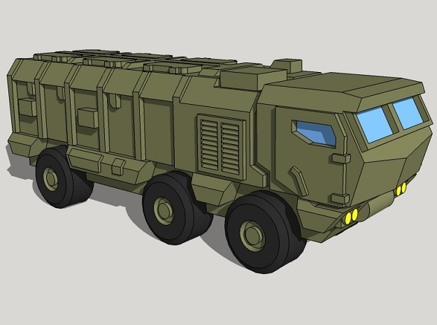 3mm Kamaz Typhoon (20 Pcs) in Frosted Ultra Detail