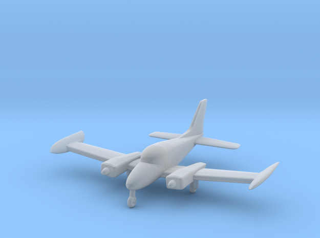 Cessna 310 - 1:144 scale in Smooth Fine Detail Plastic