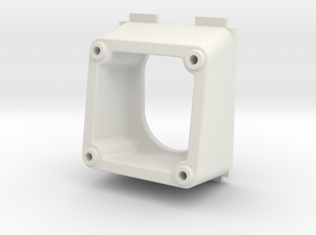 QAV250 FPV Camera Mount (PZ0420M, 10 degrees) in White Natural Versatile Plastic