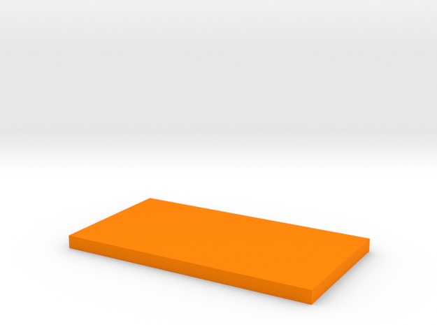 SX350J Box Lid in Orange Strong & Flexible Polished