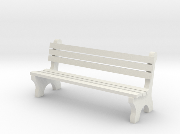 6' Park Bench 1:48