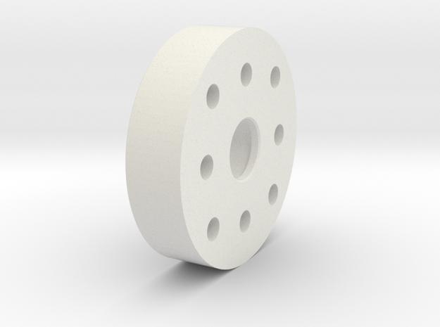 FF-8-002 - Front Body in White Natural Versatile Plastic