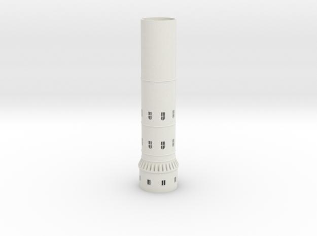 Hogwarts Tower  300mm hight in White Natural Versatile Plastic