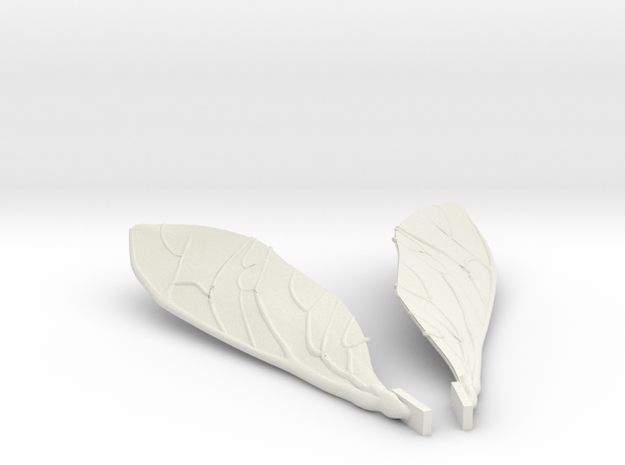 Wings for the Honey bee 3d printed