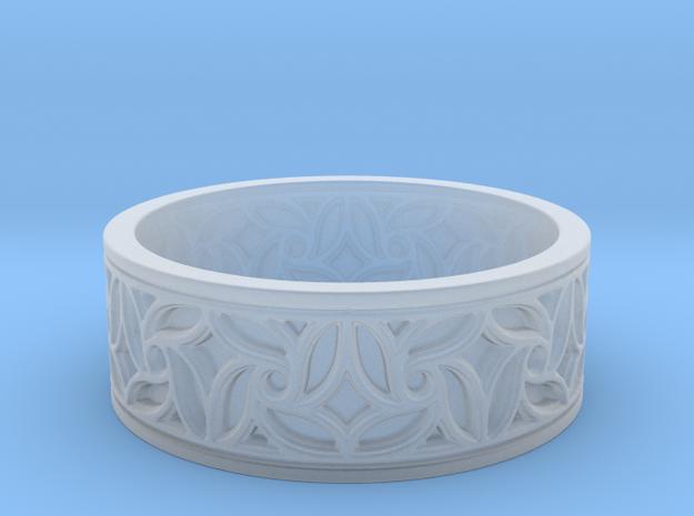 Gothic Pinwheel Tracery Ring