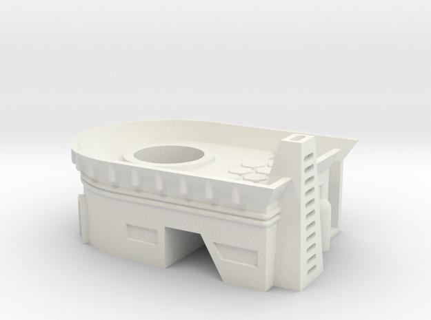 RADAR BASE BUILDING in White Natural Versatile Plastic