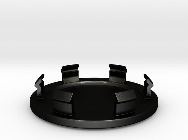 Hub for wheels in Matte Black Steel