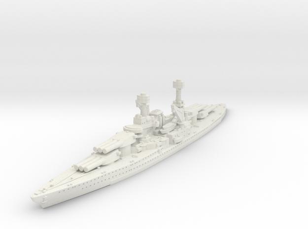 1/2400 USS South Dakota BB (1920) in White Natural Versatile Plastic