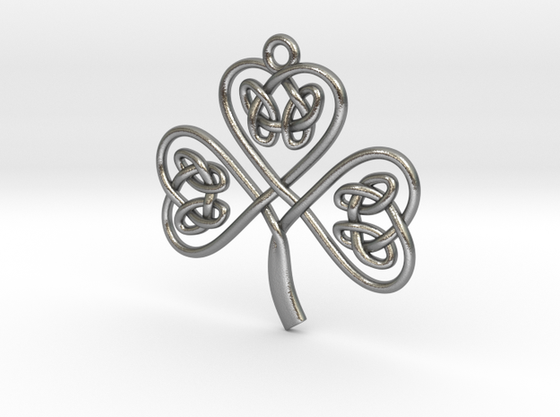 Shamrock Knot Pendant