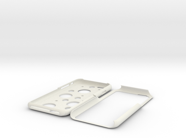 IPhone 6 Polkadot Case in White Strong & Flexible