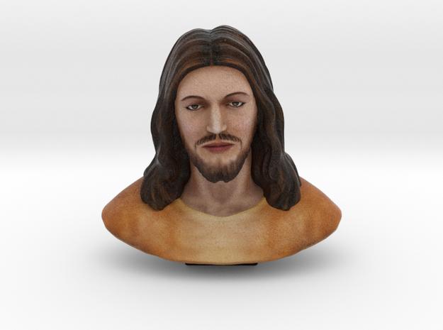 Jesus Christ (3 Inches - Full colored sandstone) in Full Color Sandstone