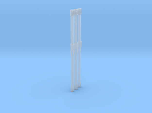 M4 16 Inch Barrel Scaled 3x in Smooth Fine Detail Plastic