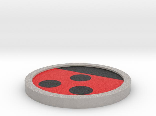 Hive Badge - Johto Pokemon Bagdes in Full Color Sandstone