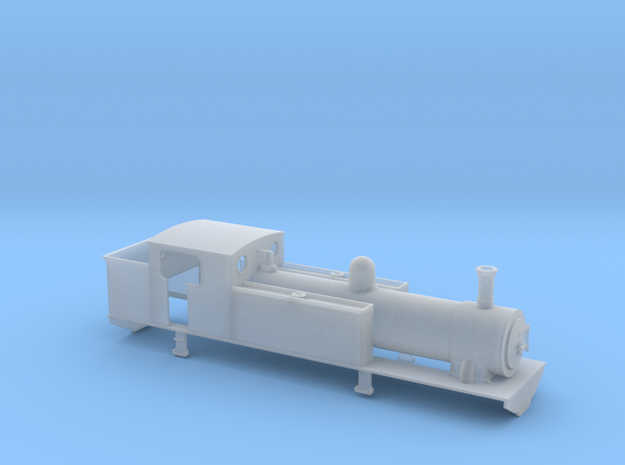 TTn3 CB&P 2-4-2T in Smooth Fine Detail Plastic
