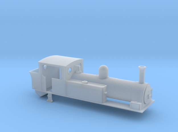 TTn3 West Clare dubs 0-6-2 in Smooth Fine Detail Plastic
