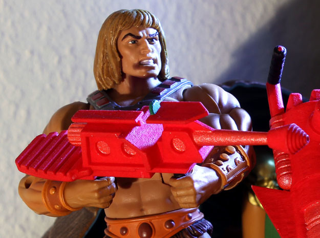 Castle Grayskull Prototype Turret Cannon Rifle