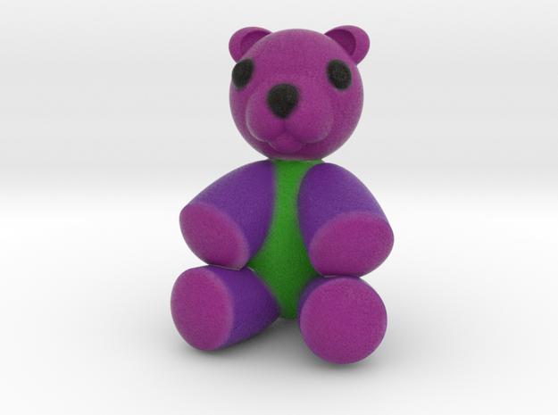 Teddy Bear 2'' in Full Color Sandstone