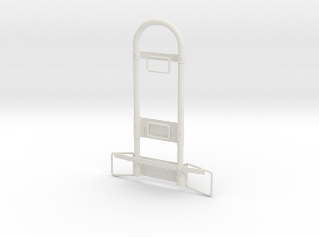 Jetpack Frame with Rings in White Natural Versatile Plastic