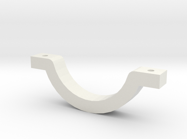 Can Stein Clamp in White Strong & Flexible