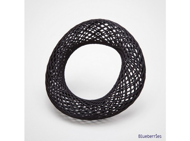 Bracelet Rhomb Wide 65mm 3d printed