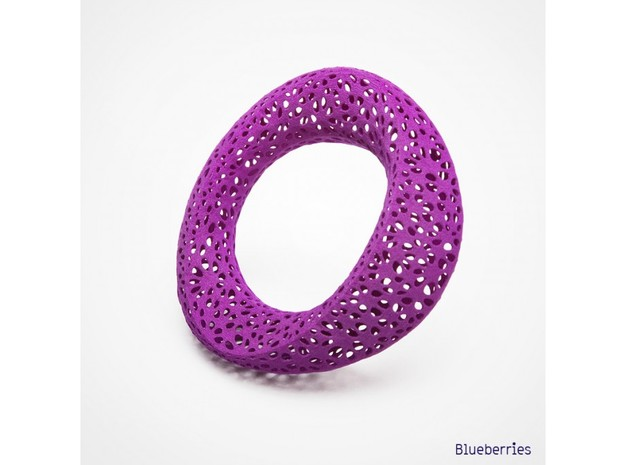 bracelet delaunayFlower 68mm 3d printed