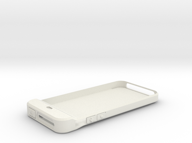 iPhone 5 Camera shutter - part1 in White Strong & Flexible