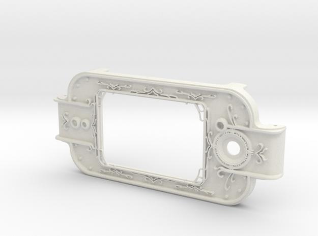 MPDA Screen Faceplate (Size 2) in White Natural Versatile Plastic