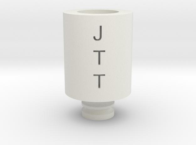 Drip Tip JTT in White Natural Versatile Plastic