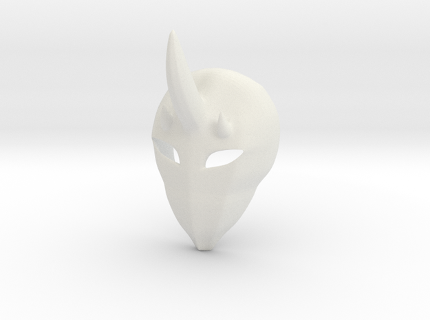 Le Maskre in White Natural Versatile Plastic