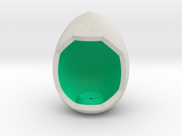 LuminOrb 1.5 - Egg Stand in Full Color Sandstone