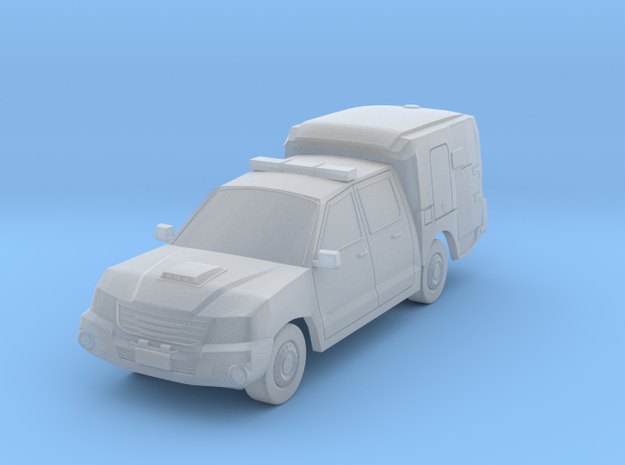 NSW Police Vehicle(N/1:160 Scale) in Smooth Fine Detail Plastic