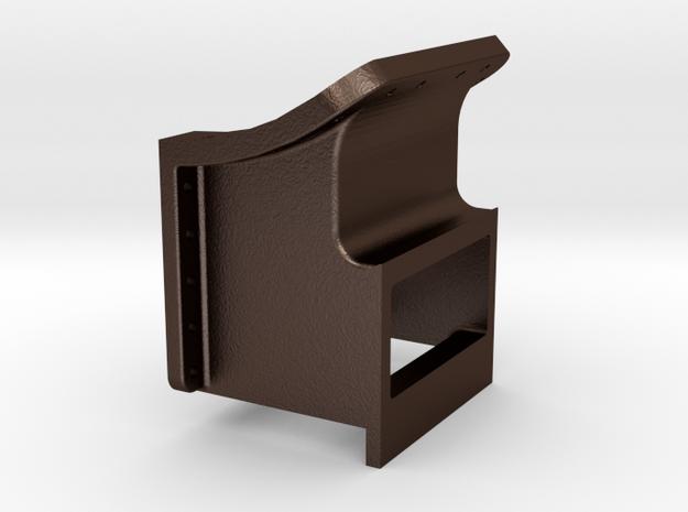 No. 23 Cylinder Saddle REV .625 Plus 1% in Matte Bronze Steel