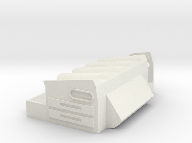 Base Sm20 in White Natural Versatile Plastic