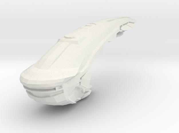 Romhead II in White Natural Versatile Plastic
