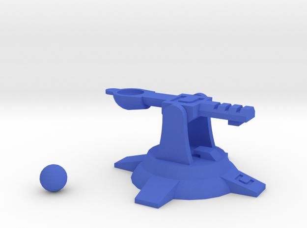 ClutterPult in Blue Processed Versatile Plastic