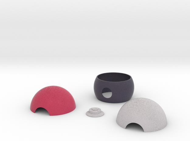 Pokeball 8cm ø in Full Color Sandstone