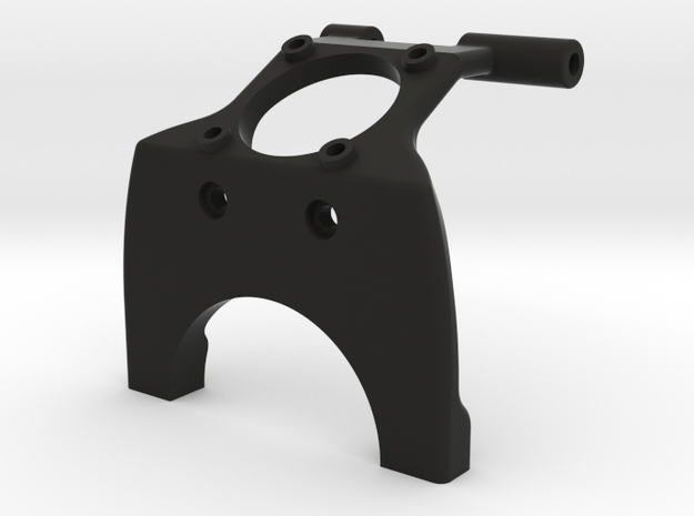 22 mm Saddle Brace with fan mount in Black Natural Versatile Plastic
