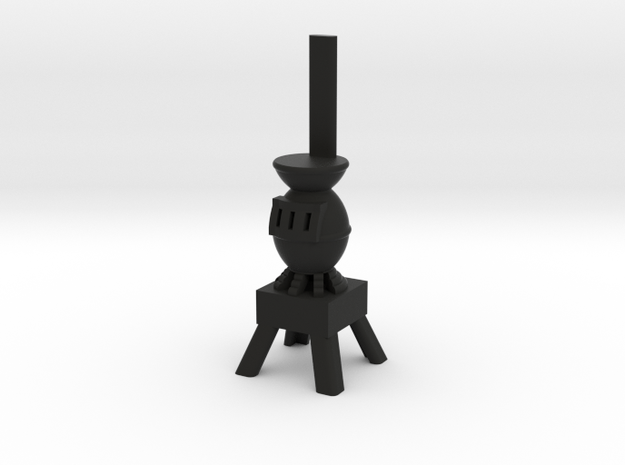 Potbelly Stove - HO 87:1 Scale