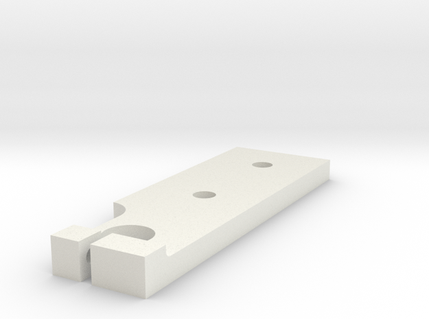 Base Plate in White Strong & Flexible