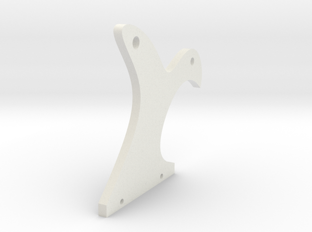 Side Plate in White Strong & Flexible
