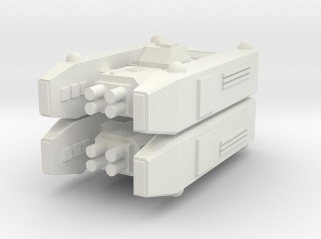 [Galaxia] Lancer x2 in White Natural Versatile Plastic