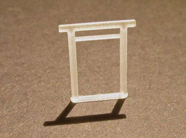 Torii, Shinmei small 5x, N-gauge in Smooth Fine Detail Plastic