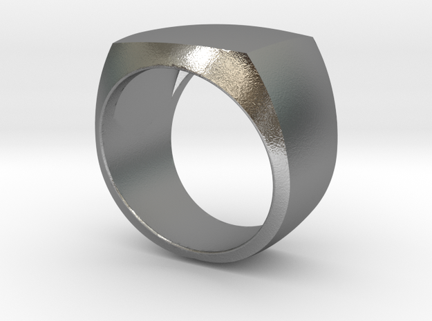 RING Siegelring Crestring Ø21.5mm in Natural Silver