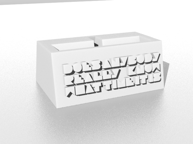 Phone Stand 3d printed Image of the publication will be sample only. Appearance depends on the material you choose.