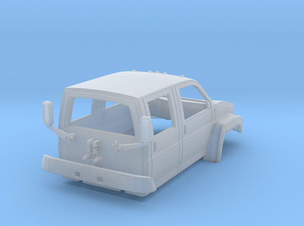 Gmc C5500 4x4 Crew Cab 1/50 in Frosted Ultra Detail