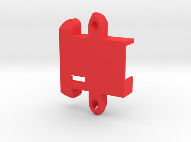 D4R Holder V03 in Red Strong & Flexible Polished