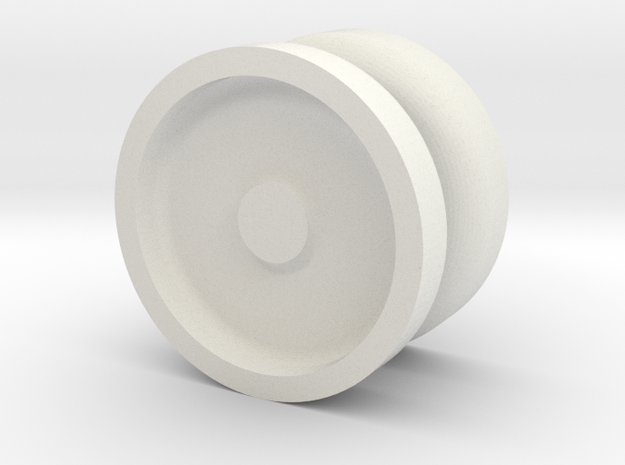 Pocket YoYo  in White Natural Versatile Plastic