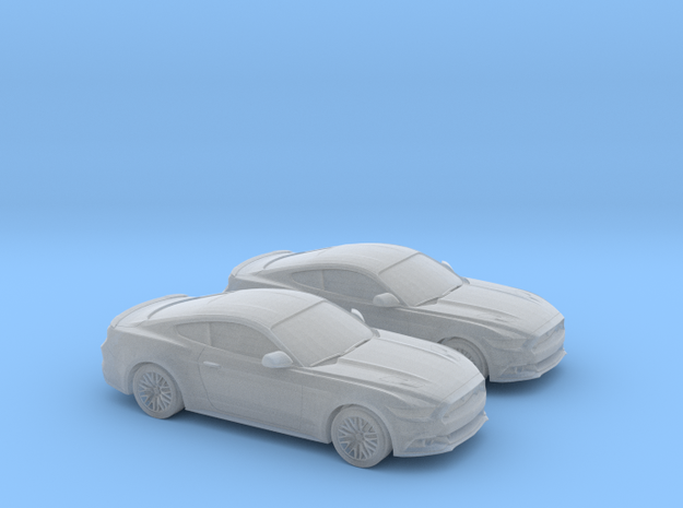 1/160 2X 2015 Ford Mustang GT